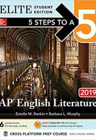 5 Steps to a 5: English Literature 2019 Elite Student edition