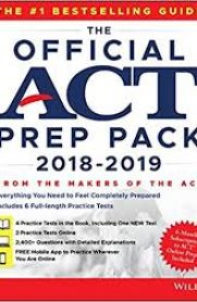 The Official ACT Prep Pack with 6 Full Practice Tests