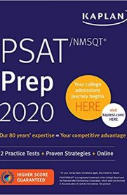 PSAT/NMSQT Prep 2020: 2 Practice Tests + Proven Strategies + Online (Kaplan Test Prep)