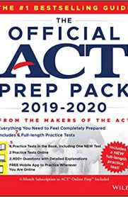 The Official ACT Prep Pack 2019-2020