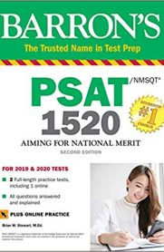 Barron's PSAT/NMSQT 1520 with Online Test