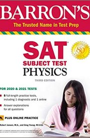 Barron's SAT Subject Test Physics with Online Test