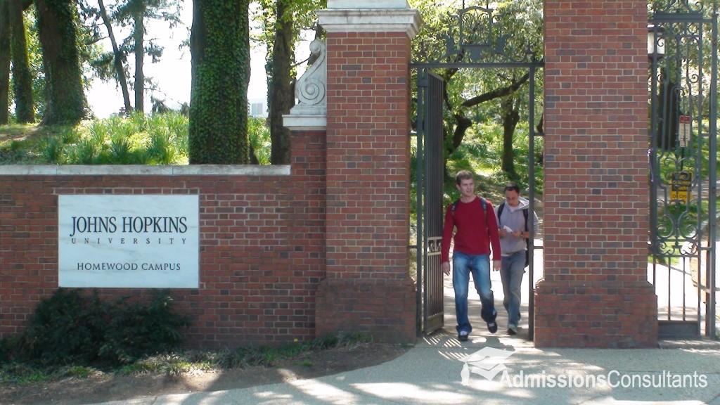 Johns Hopkins legacy admissions