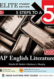 5 Steps to a 5: AP English Literature 2020 Elite Student edition