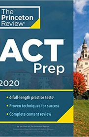 The Princeton Review ACT Prep 2020