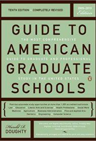 Guide to American Graduate Schools