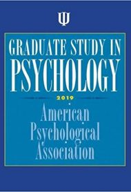 Graduate Study in Psychology 2019 Edition