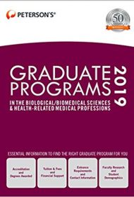 Graduate Programs in the Biological/Biomedical Sciences & Health-Related Medical Professions
