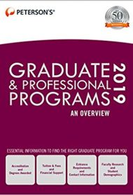 Graduate & Professional Programs: An Overview 2019