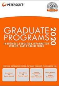 Graduate Programs in Business, Education, Information Studies, Law & Social Work 2020