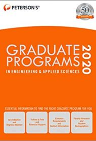 Graduate Programs in Engineering & Applied Sciences 2020