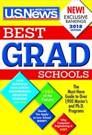 US News Best Graduate Schools 2018