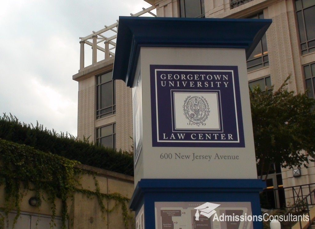Georgetown law applications reached record highs