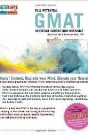 Full Potential GMAT Sentence Correction Intensive by Bara Sapir and Karen Van Hoek