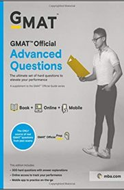 GMAT Official Advanced Questions, First Edition