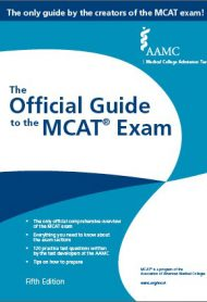 The Official Guide to the MCAT Exam, 5th Edition