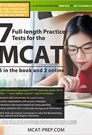 7 Full-length MCAT Practice Tests by MCAT-Prep.com