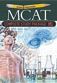 Examkrackers MCAT Study Package by Jonathan Orsay