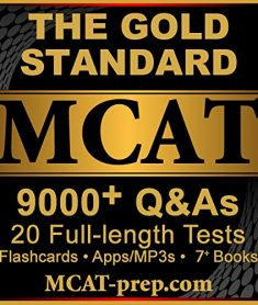 Gold Standard MCAT Prep Platinum Package Plus with 20 full-length practice tests by MCAT-Prep.com